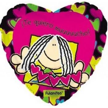 Palloncino Mylar 45 cm. Happy 50° Birthday Pink Dazzeloon