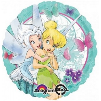 Palloncino Mylar 45 cm. Happy New Year Blue Sparkling Dazzle