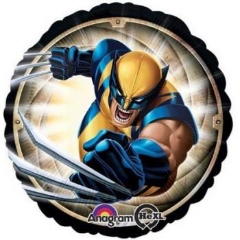 Palloncino Mylar 45 cm. Wolverine