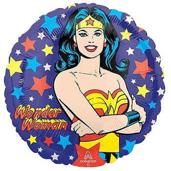 Palloncino Mylar 45 cm. Wonder Woman
