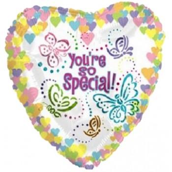 Confezione You are so special Dim: cm 40x70 h circa (variabile). Prodotto personalizzabile