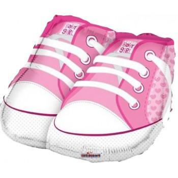Palloncino Mylar 53 cm. Girl - Baby Girl Shoes