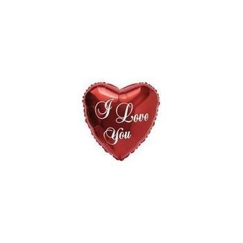 Palloncino Mylar Micro 11 cm. I Love You Script