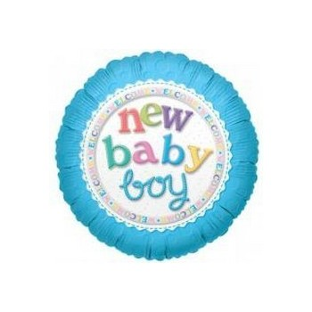 Palloncino Mylar 45 cm. 21° Happy Birthday Heart