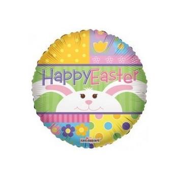 Palloncino Mylar Mini Shape 22 cm. Easter Peek-A-Boo Bunny
