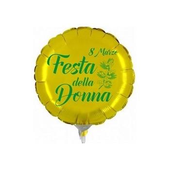 Palloncino Mylar Mini Shape 22 cm. Festa della Donna