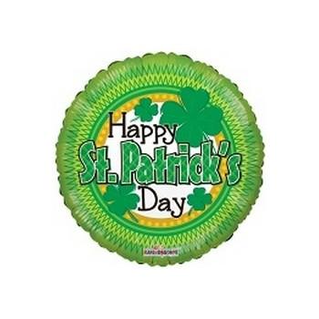 Palloncino Mylar Mini Shape 22 cm. Happy St Patrick's Day