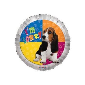 Palloncino Mylar Mini Shape 22 cm. I'm Sorry Dog