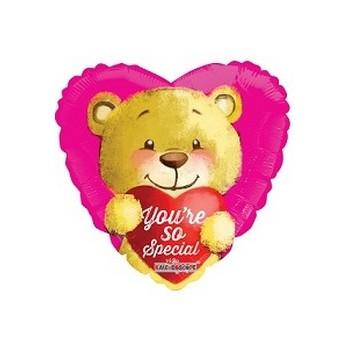 Palloncino Mylar Mini Shape 22 cm. You're So Special Bear