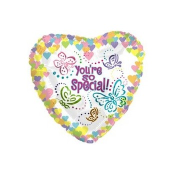 Palloncino Mylar Mini Shape 22 cm. You're So Special Butterflies