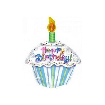 Piatti carta 18 cm Buon Compleanno Radiant 8 pz
