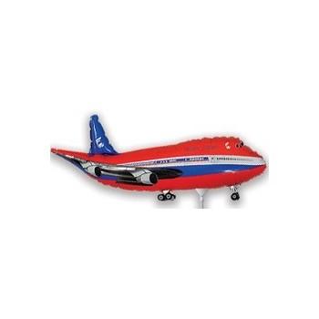 Palloncino Mylar Mini Shape 30 cm. Red Plane