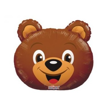 Palloncino Mylar Mini Shape 35 cm. Bear Head