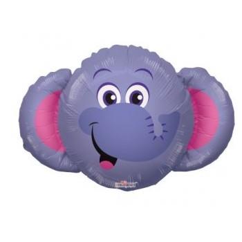Palloncino Mylar Mini Shape 35 cm. Elephant Head