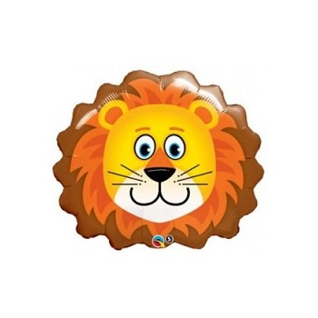 Palloncino Mylar Mini Shape 35 cm. Lion Head