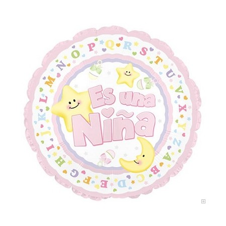 Palloncino Mylar 45 cm. Baby Shower Animals