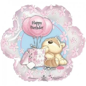 Palloncino Mylar 45 cm. Barbie Sweet Birthday