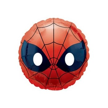 Palloncino Mylar Mini Shape Spider-Man Emoji - 22 cm.