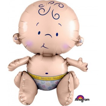 Palloncino Mylar Mini Shape 35 cm. Mini Happy Easter Egg