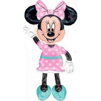 Palloncino Mylar Multi Balloon 137 cm. Minnie Mouse