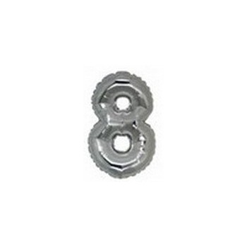 Palloncino Mylar Mini Shape 23 cm. Emoticon Smile Occhiolino