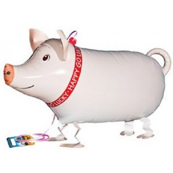 Palloncino Mylar 45 cm. Smiley Neon Green