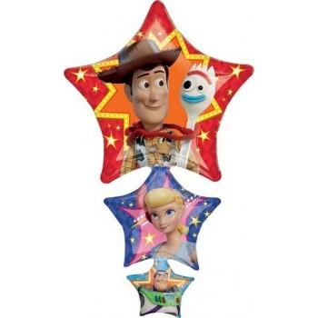 Palloncino Mylar Super Shape 63 x 106 cm Toy Story 4