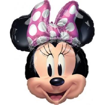 Palloncino Mylar Super Shape 66 x 53 cm. Minnie Forever