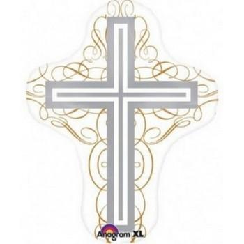 Palloncino Mylar Super Shape 71 cm. Elegant Cross