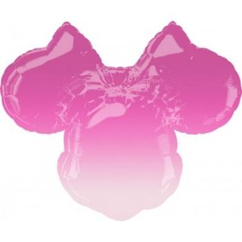 Palloncino Mylar Super Shape 71 x 58 cm. Minnie Forever Ombrè