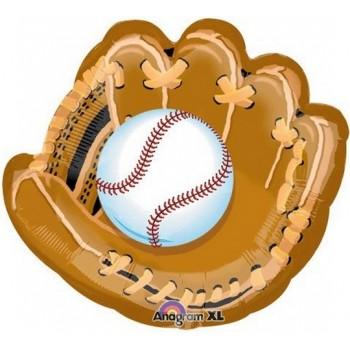 Palloncino Mylar Super Shape 78 cm. Baseball And Glove
