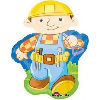 Palloncino Mylar Super Shape 84 cm. Bob The Builder