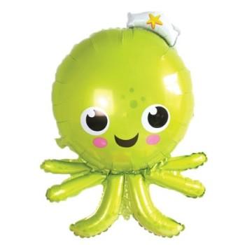 Palloncino Mylar Super Shape 91 cm. Octopus