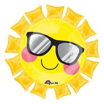 Palloncino Mylar Super Shape68 cm. Fun in the Sun - 1 pz