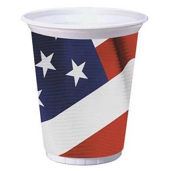 Coordinato America - Bicchiere Palstica 473 ml. 8 pz.