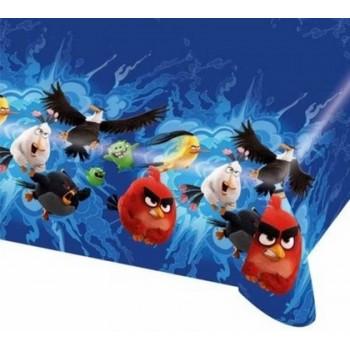 Coordinato Angry Birds - Tovaglia Plastica 120x180 cm.