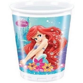 Coordinato Ariel - Bicchiere Plastica 200 ml. - 8 pz.