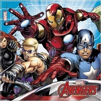 Coordinato Avengers Mighty - Tovagliolo 33x33 cm. - 20 pz.