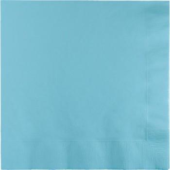 Palloncino in Lattice Rotondo 12,5 cm. Stampa Pois Azzurro