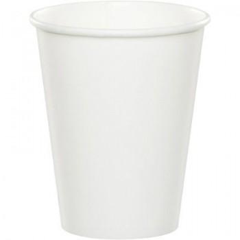 Coordinato Bianco - Bicchiere Carta 266 ml. - 8 pz.