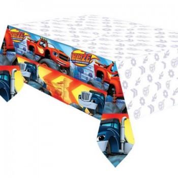 Tovaglia in Carta Damascata Lilla 1,20 x 7 mt.
