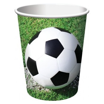 Coordinato Calcio - Bicchiere Carta 266 ml. - 8 pz.