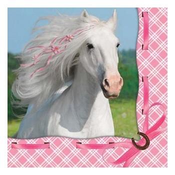 Coordinato Cavallo - Tovagliolo 25x25 cm. - 16 pz.