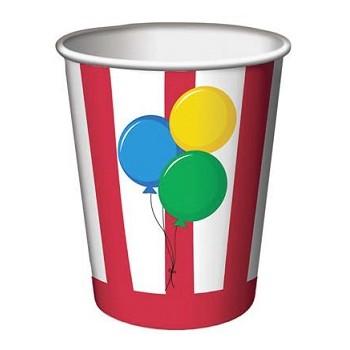 Coordinato Circo - Bicchiere Carta 266 ml. - 8 pz.