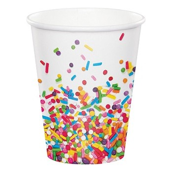 Coordinato Codette - Bicchiere Carta 266 ml. - 8 pz.