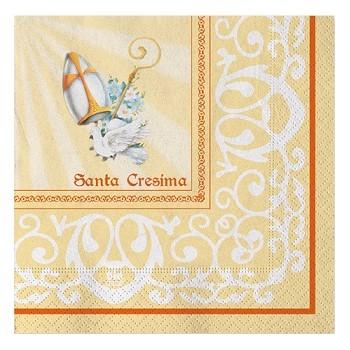 Coordinato Cresima - Tovagliolo 33x33 cm. - 16 pz.
