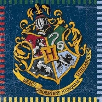 Coordinato Harry Potter - Tovagliolo 33 x 33 cm. - 16 pz.