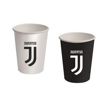 Coordinato Juventus - Bicchiere Carta 266 ml. - 8 pz.