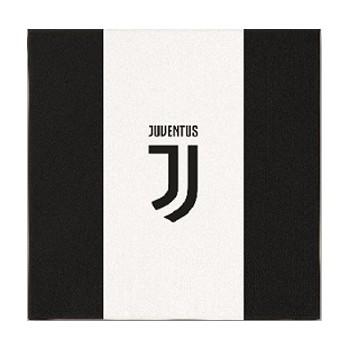 Coordinato Juventus - Tovagliolo 25x25 cm. - 18 pz.