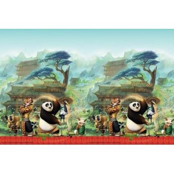 Coordinato Kung-Fu Panda - Tovaglia Plastica 120x180 cm.